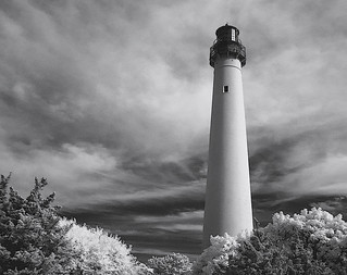 cape may lighthouse infrared