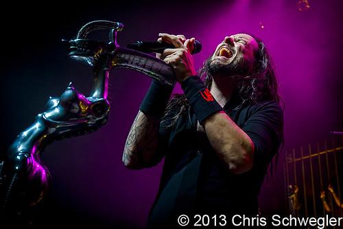 Korn – 10-01-13 – The Fillmore, Detroit, MI