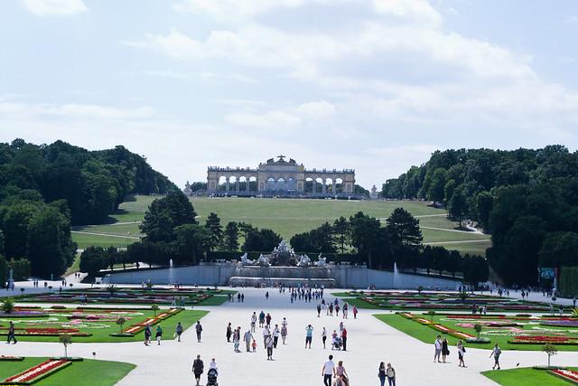 Gardens at Schönbrunn | Vienna, Austria