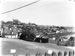 View of the east side of Lavender Bay (NSW)