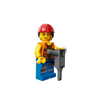 LEGO The Movie 71004 - Collectible Minifigures - Gail the Construction Worker