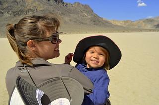 Riley/Leiana at Racetrack Playa