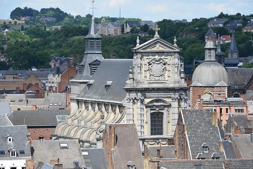 L'église en style baroque St-Loup