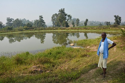 This pond is one of the 41 water sources at Amatikra with high Fluoride concentration.