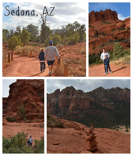 Sedona AZ daytrip collage