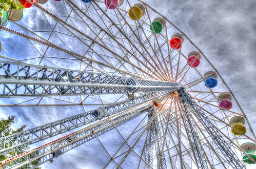 park abstract color colors wheel landscape fun amusement nikon colorful ride grove jonathan d ferris theme hdr knoebels 7000 lorio knoebel d7000 jtleagles