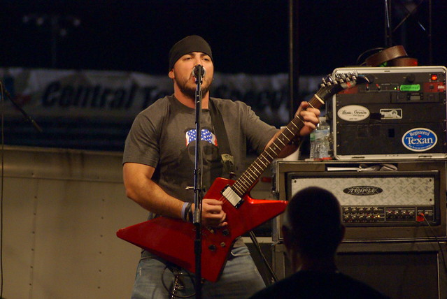 Photo:Mike Truth and the Replacement Killers, and Snake Skin Prison at Kyle Music and Art Festival By MarkScottAustinTX
