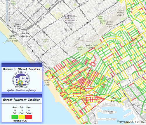Street Services Interactive Map