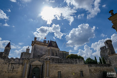 Medieval castle in Uzes