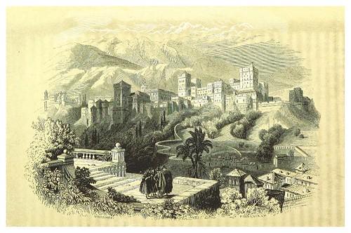 011-La Alhambra de Granada-La Spagna, opera storica, artistica, pittoresca e monumentale..1850-51- British Library