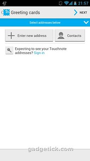 Touchnote Мобильные открытки