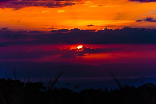 sunset costarica pacific puntarenas