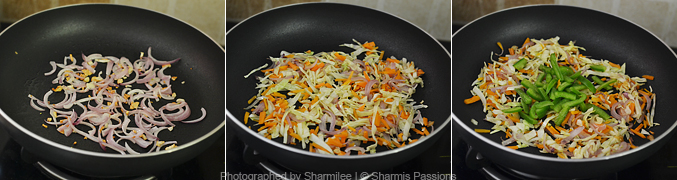 How to make chapati noodles - Step3