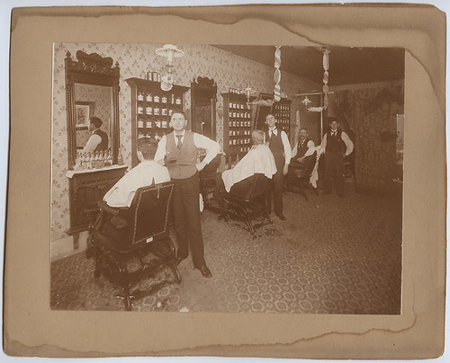 [Barber Shop, San Angelo, Texas]
