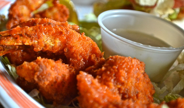 Hog Fish Bar and Grill - Key West, Florida - buffalo shrimp