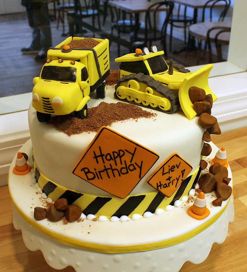 Construction Cake Decorating Ideas
