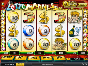 free slot games lotto madness