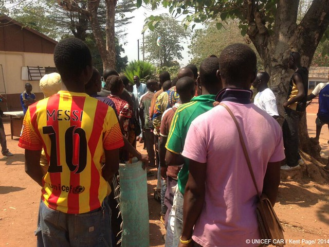 Day 7 - No longer a child soldier, Messi fan 'Jean', 17, is looking forward to learning how to be a mechanic