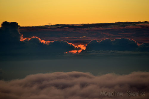 Nascer do sol no Haleakala