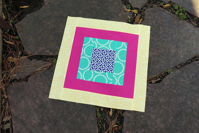January Square-In-Square Block