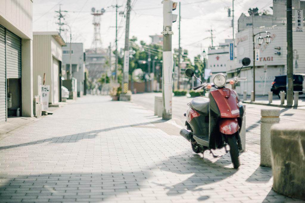 okazaki street | D600 + Ai 50mm f1.2S