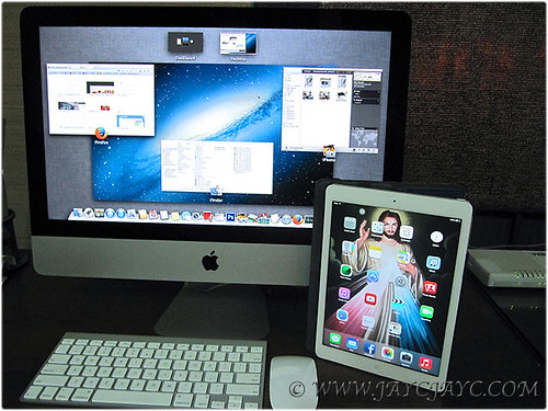 Recently purchased 21.5 inch iMac and an iPad Air in January 2014