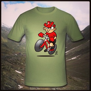 MTB T-Shirt. www.Tekenaartje.nl #Zazzle #Spreadshirt #Redbubble  #Skreened #Society6 #illustratie #illustration #tekening #drawing #MTB #ATB #MountainBike #bike #cycling #fietsen #biking #Tshirtdesign #design #shirt #shirtdesign #Livigno #biker