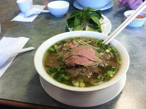 Steak and Brisket Pho by raise my voice