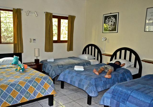 Jaguar Inn Tikal Guatemala room
