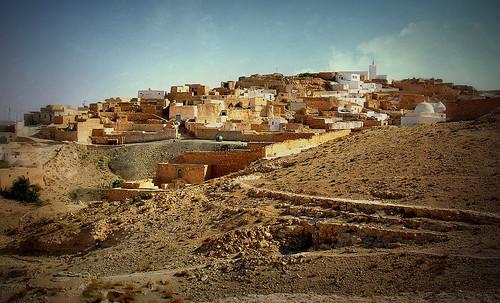 travel texture rock landscape reisen dorf village tunisia urlaub natur explore afrika landschaft tunisie voyages felsen tunesien matmata tamezret textur nordafrika effecte roba66