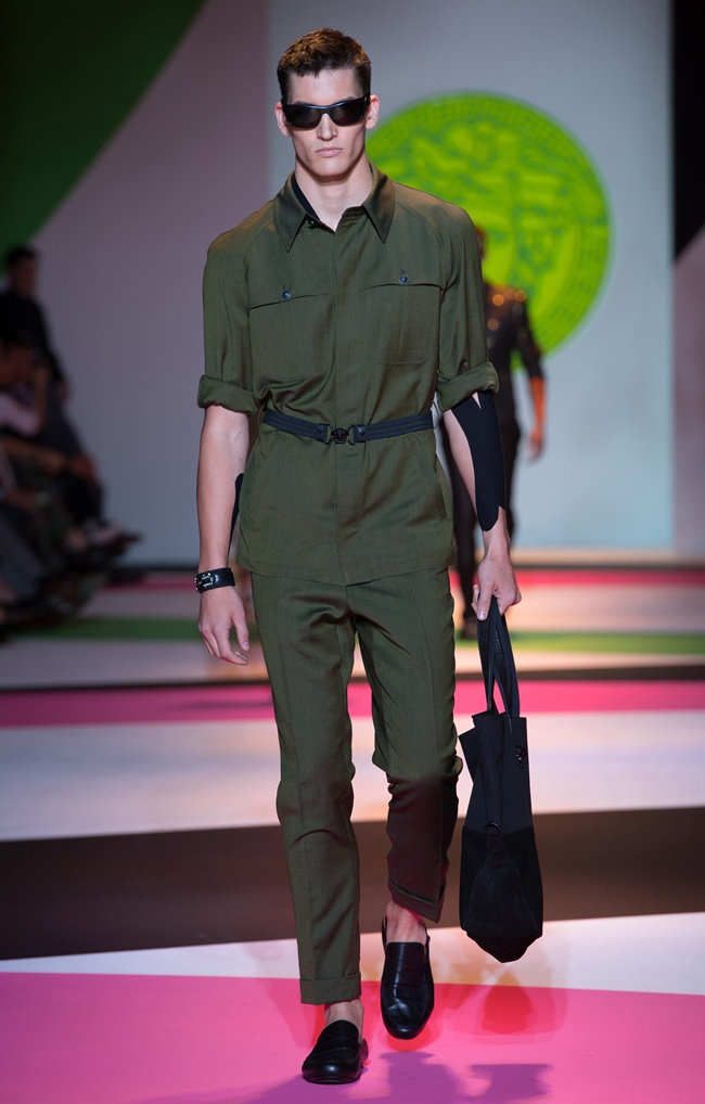 6 VERSACE Men's SS2014_Look 13