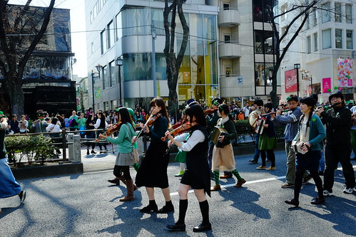 Harajuku St Patricks Day Parade 2014 18