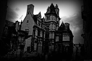Old French mansion (Angers - France) 2009