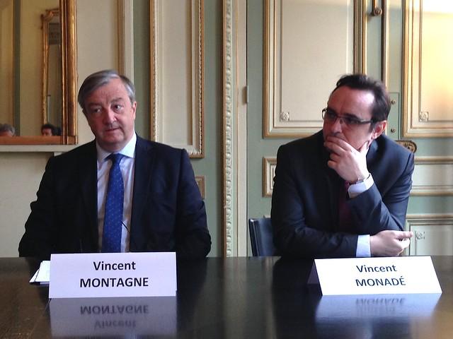 Vincent Montagne - Vincent Monadé