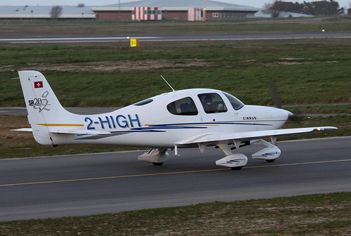 2-HIGH Cirrus Design Corp SR20 by Guernsey Airport Photography
