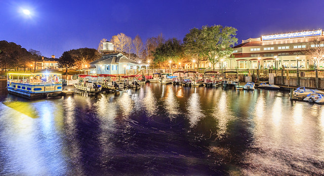 Disney's Port Orleans Riverside Dock