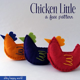 Chicken Little - a free pattern
