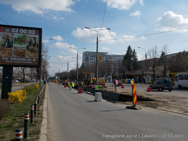 Traseul 102, etapa I: Bucla Nord ( Sp. Județean ) - Intersecție Republicii - Pagina 2 13506748824_a5e7b43d97_c