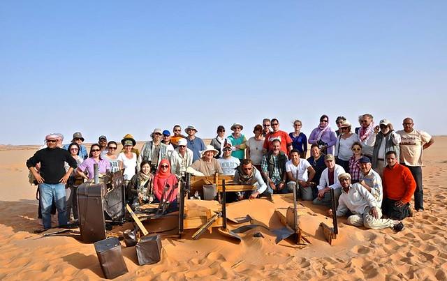 Participantes de la Expedición Kamal