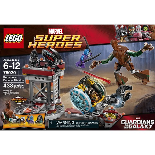 LEGO Marvel 76020 Front