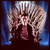 Finally took my rightful place on the Iron Throne! @gameofthrones #instagay