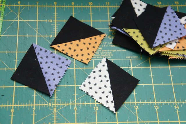 half square triangles diy