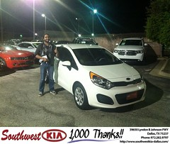 Congratulations to Larry Griffin on your new car purchase from Mercado Salvador  at Southwest Kia Dallas! #NewCar