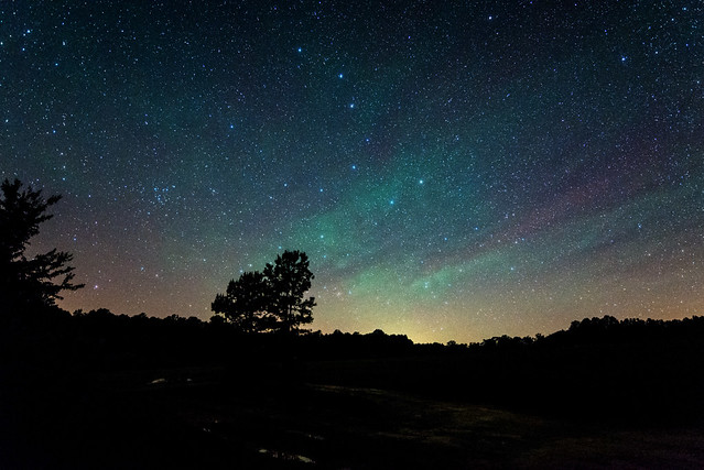 Airglow and the Big Dipper