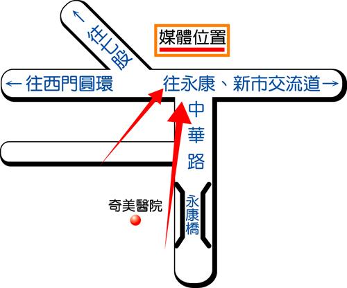 永康市中正南路map
