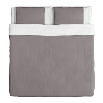 I Farglav Duvet - Grey - Full:Queen