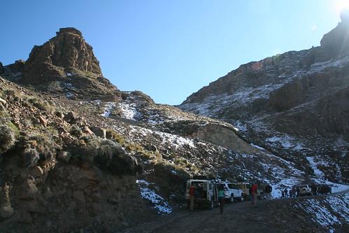 Roadside pitstops, Sani Pass