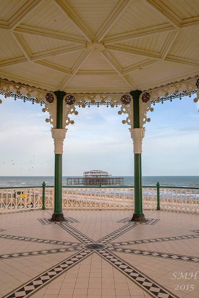 West pier from Bandstand
