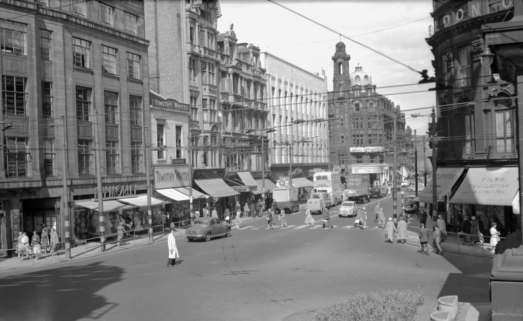 Blackett Street, Newcastle upon Tyne, 1960