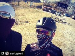 When you try VALCAVA you can't go back. With his master Mr. CG #ciclismi #insearchofup #outsideisfree #steelframe #campagnolo #cashPeso #Repost @carlogironi with @repostapp ・・・ Last Valcava This Winter. #valcava